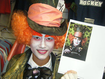 Mad Hatter Performance Makeup